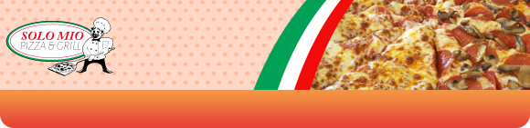 O' Sole Mio Pizza Bundbanner